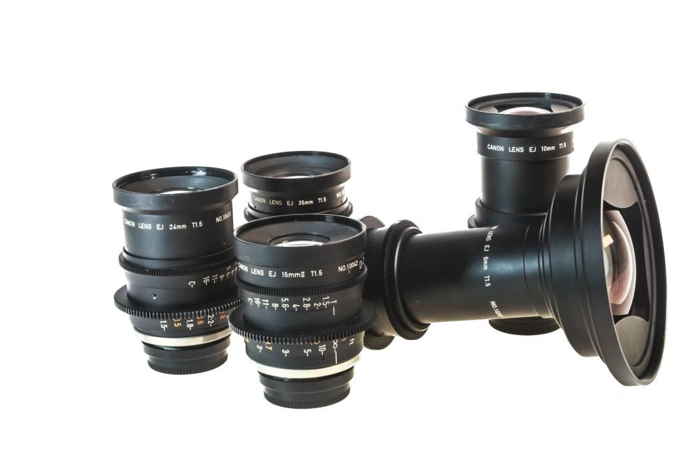 Canon EJ Primes Set 1
