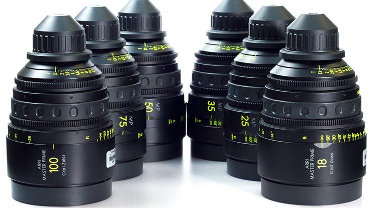 Zeiss Master Primes Set T1.3 2